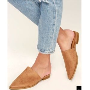 Report Pointed Toe Mules